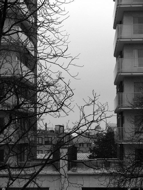 avenue Churchill ; Uccle ; mars 2011